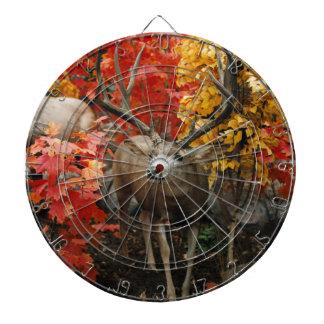 Whitetail In Autumn Dartboard