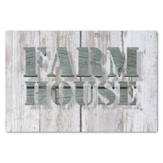 whitewashed  barn wood western country farmhouse tissue paper