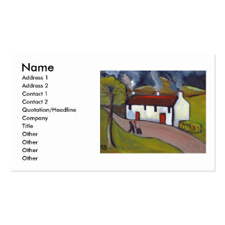 WHITEWASHED COTTAGES BUSINESS CARDS