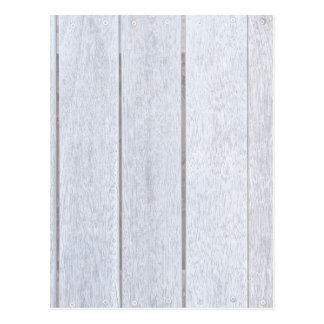 Whitewashed Old Weathered Wood Background Wooden Postcard