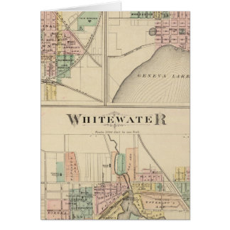 Whitewater Elkhorn and Geneva Greeting Cards