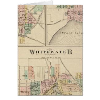 Whitewater, Elkhorn and Geneva Card