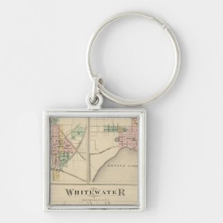 Whitewater Elkhorn and Geneva Key Chains
