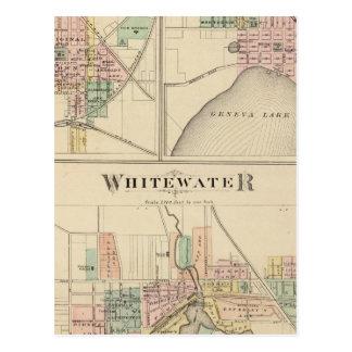 Whitewater, Elkhorn and Geneva Postcard