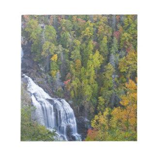 Whitewater Falls in the Nantahala National Notepad