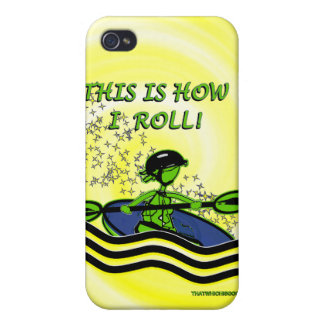 Whitewater Kayak Roll Case For iPhone 4