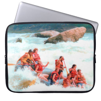Whitewater Rafting Laptop Sleeve