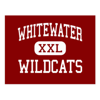 Whitewater - Wildcats - High - Fayetteville Post Card