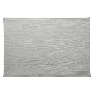 WHITEWOOD LIGHT GREY GRAY WOOD GRAIN TEXTURE TEMPL PLACEMAT