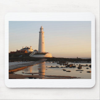 WHITLEY BAY LIGHTHOUSE MOUSE MAT