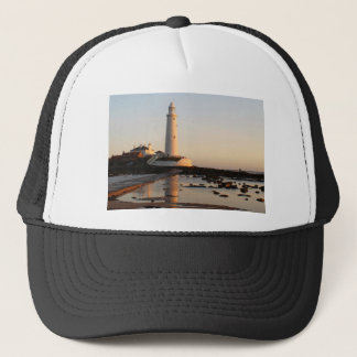 WHITLEY BAY LIGHTHOUSE TRUCKER HAT