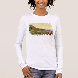 Whitlingham, Norfolk, 1860 (oil on canvas) Long Sleeve T-Shirt