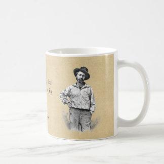 """Whitman 44 """"let it produce joy"""" basic white mug"""