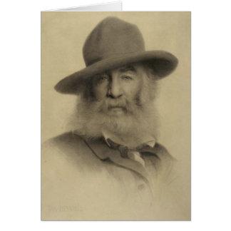 Whitman ❝Keep Your Face Always Toward Sunshine❞ Note Card