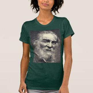 "Whitman portrait ""face always toward the sunshine"" t-shirt"