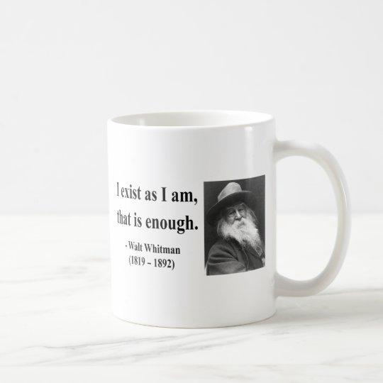 Whitman Quote 3b Coffee Mug