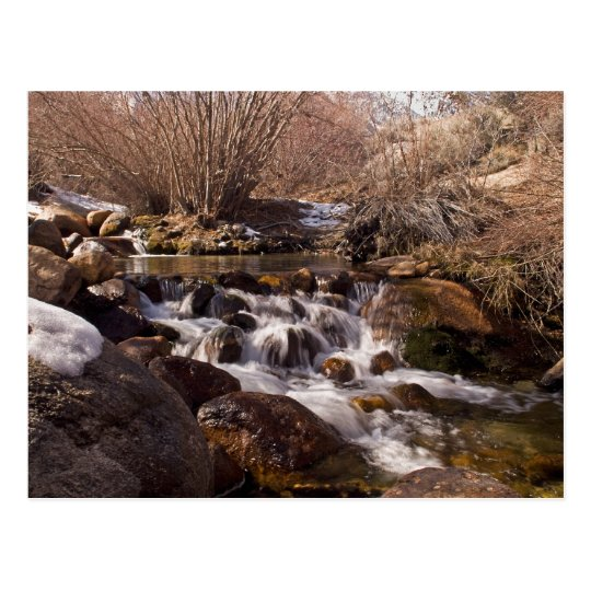 Whitney Potrtal Waterfall, California Card