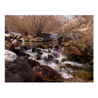 Whitney Potrtal Waterfall, California Card Postcard