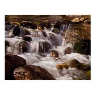 Whitney Potrtal Waterfall, California Card Post Cards