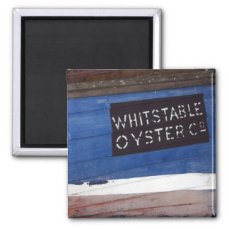 Whitstable, Kent, UK Square Magnet