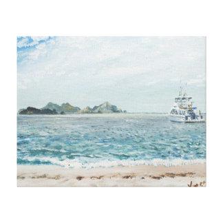 Whitsunday Islands Australia. 1998 Stretched Canvas Prints