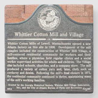 Whittier Mill Park,Vinings, Atlanta, Stone Coaster