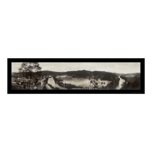 Whittier Tuckasegee NC Photo 1913 Poster