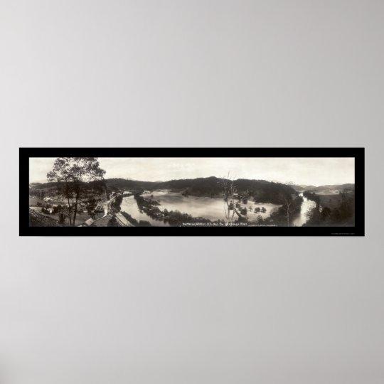 Whittier Tuckasegee NC Photo 1913 Poster