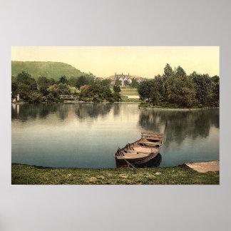 Whitworth Gardens, Darley Dale, Derbyshire Poster