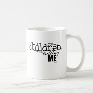 Who are these Children Basic White Mug