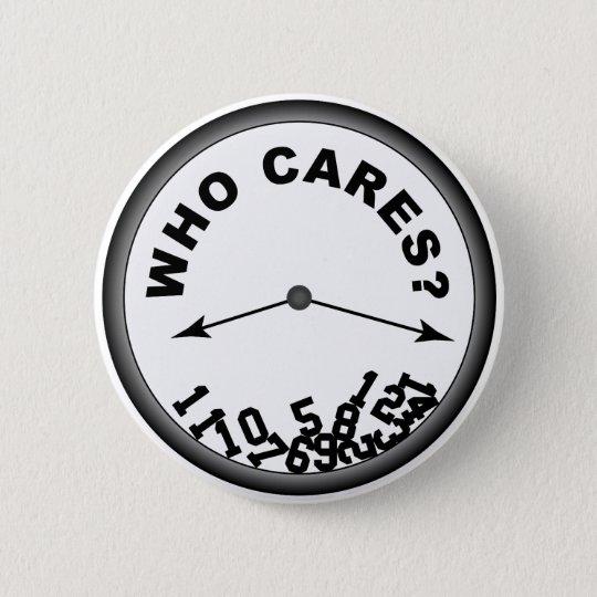 Who Cares Clock - Button