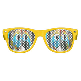 """Who Could Resist"" Kids Retro Party Shades"