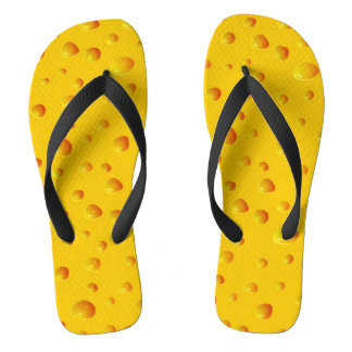 WHO CUT THE CHEESE! ~v.2~ Flip Flops