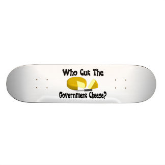 Who Cut The Government Cheese 20 Cm Skateboard Deck