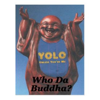 Who Da Buddha? Postcard