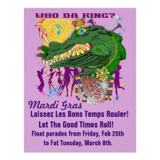 Who Da King? Louisiana Personalized Flyer