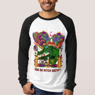 Who Da Witch Doctor Gator Front Witch Doctor Back Tees