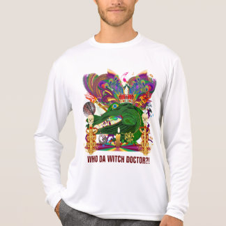 Who Da Witch Doctor Gator Front Witch Doctor Back Tee Shirt