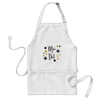 Who Dat t-shirts Standard Apron
