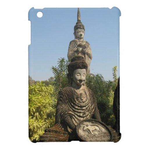 Who Do You Worship? Nong Khai, Isaan, Thailand Cover For The iPad Mini