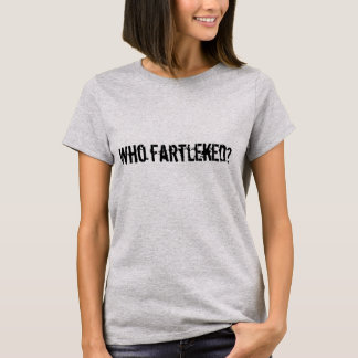 Who fartleked? – London Marathon T-Shirt