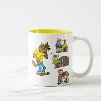 Who fears the Big Bully Wolf? Mug