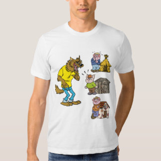 Who fears the Big Bully Wolf? T-Shirt