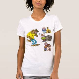 Who fears the Big Bully Wolf Women T-Shirt