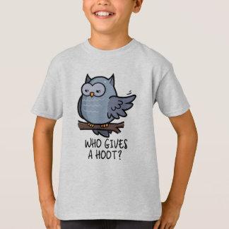 Who Gives a Hoot? T-Shirt