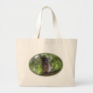 who gives a hoot bag