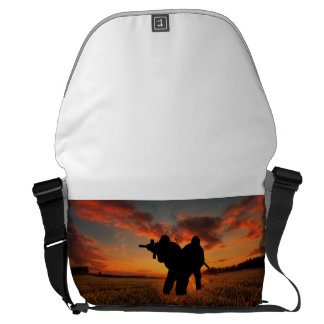 Who Goes There Messenger Bag