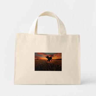 Who Goes There Mini Tote Bag