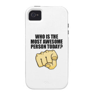 who is awesome vibe iPhone 4 cover