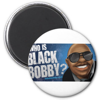 Who Is Black Bobby Gear 6 Cm Round Magnet